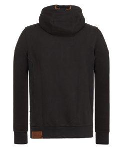 Naketano Heren Hoodie Vest Birol Black 1