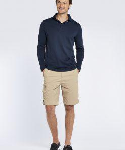 Dubarry Freshford Polo Lange mouw Unisex navy zeilkledingspecialist 10
