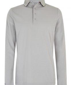 Dubarry Freshford Polo Lange mouw Unisex platinum zeilkledingspecialist 2