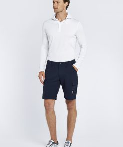 Dubarry Freshford Polo Lange mouw Unisex wit zeilkledingspecialist 5