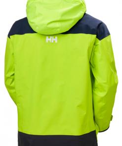 Helly Hansen Pier Heren Zeiljas Fel Groen zeilkledingspecialist 1