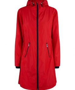 HV Polo Dames Jas Parka Newent Rood