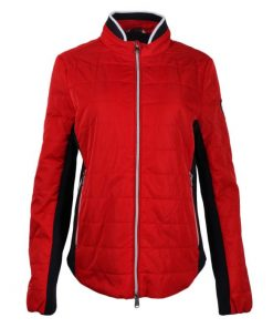 HV Polo Northleach rood jack dames