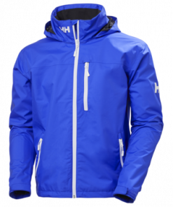 Helly Hansen Crew Hooded Jacket Heren Royal Blue zeilkeldingspecialist