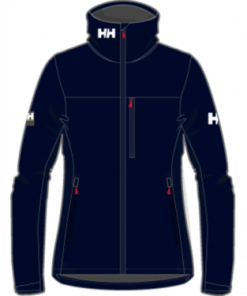 Helly Hansen Crew Hooded Jacket Dames Navy zeilkledingspecialist