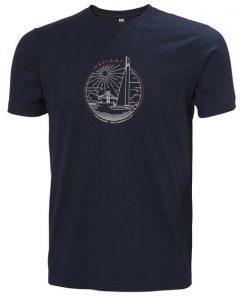 Helly Hansen Graphic T-shirt American Magic Navy 1
