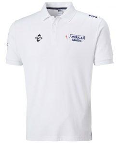 Helly Hansen Riftline Poloshirt Wit American Magic
