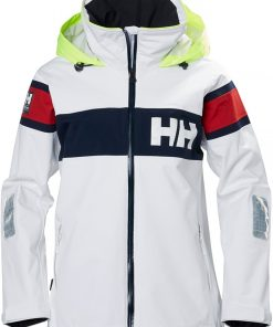 Helly Hansen Salt Jacket Dames Wit 1